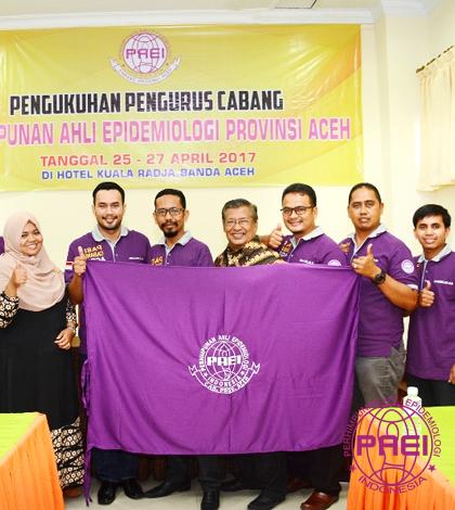 Pengurus Perhimpunan Ahli Epidemiologi Indonesia Cabang Aceh