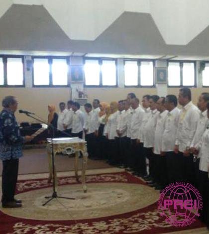 Prof. Ridwan Amiruddin Resmi Jabat Ketua PAEI Sulsel