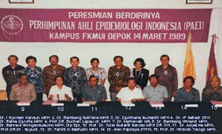 Sejarah Perhimpunan Ahli Epidemiologi Indonesia (PAEI)