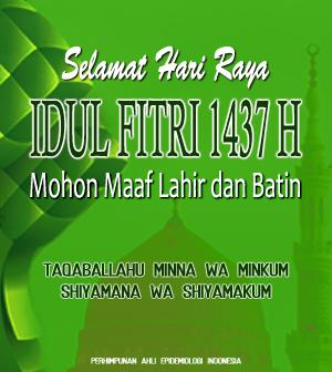 PAEI: Selamat Hari Raya Idul Fitri 1437 H