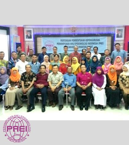 Persatuan Epidemiologi Cabang Kalimantan Barat Terbentuk