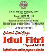 PAEI: Selamat Hari Raya Idul Fitri 1439 H