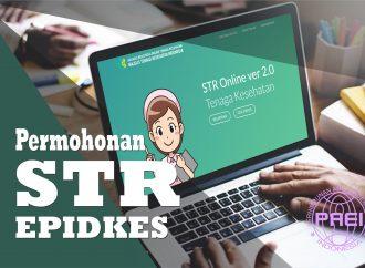 Panduan Permohonan STR Epidkes